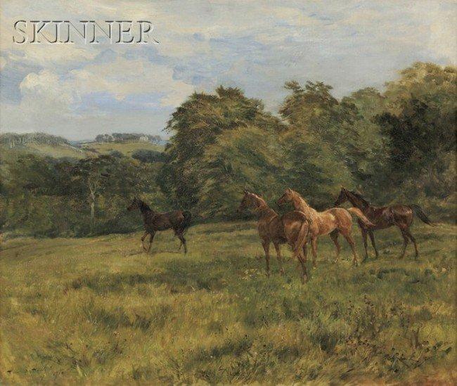 248: Heywood Hardy (British, 1842-1933) The Yearlings S