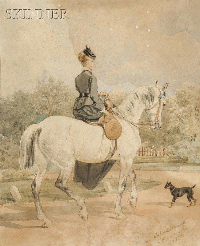 249: Juliusz Fortunat von Kossak (Polish, 1824-1899) La