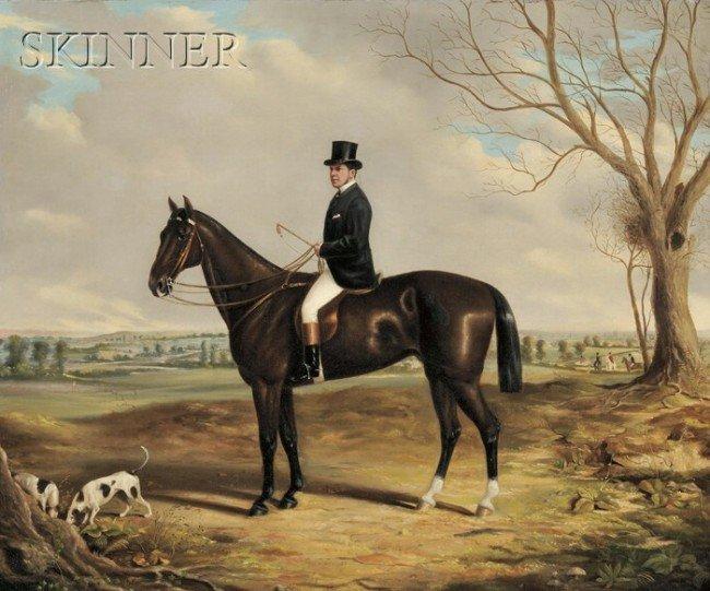 250: British School, 19th Century Portrait of a Horse a