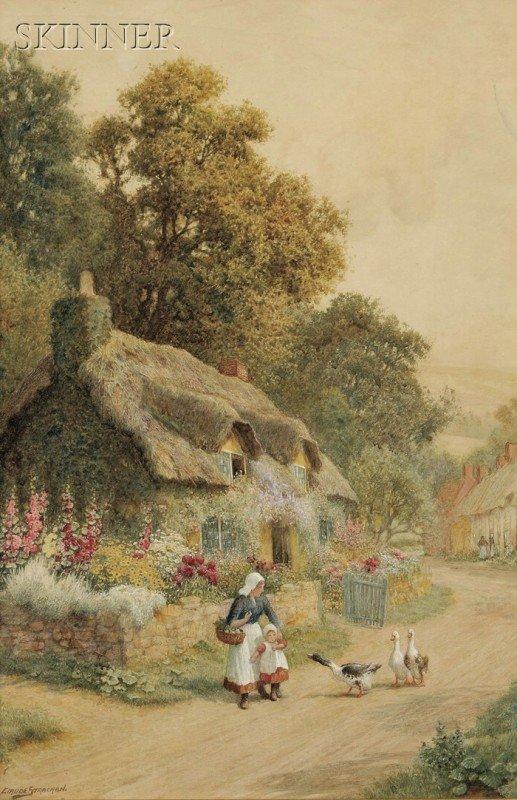 250A: Arthur Claude Strachan (British, 1865-1938) Encou