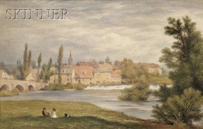 251A: John Henry Hill (American, 1839-1922) Picnic by t