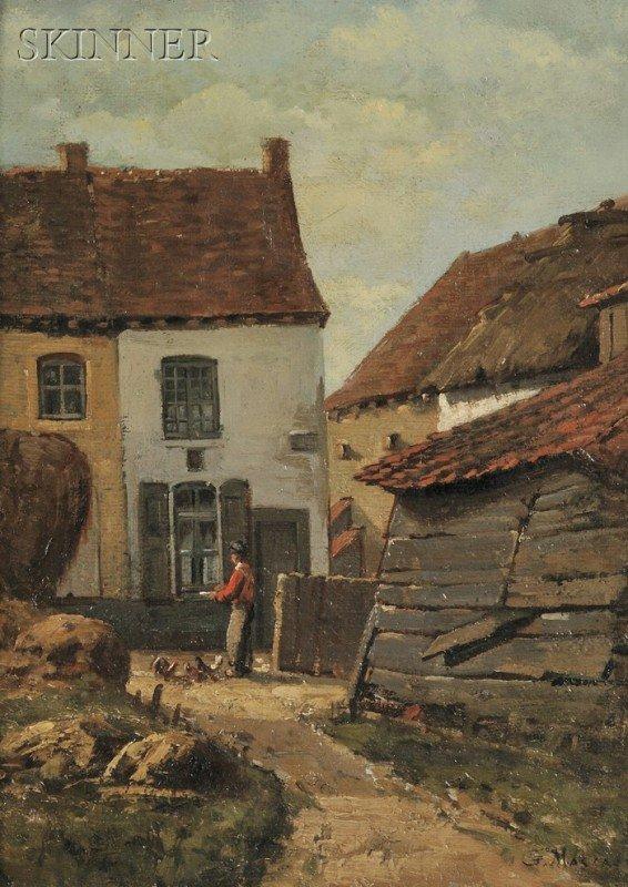 251B: Gustave Mascart (French, 1834-1914) Village House