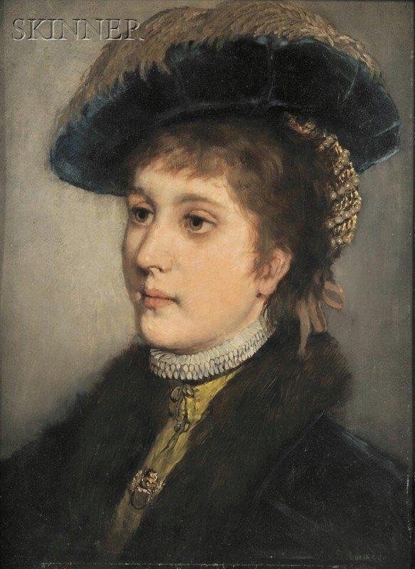253A: Max von Schmaedel (German, b. 1856) Portrait of M