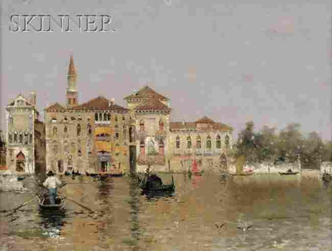 336: Martin Rico y Ortega (Spanish, 1833-1908) Venetian