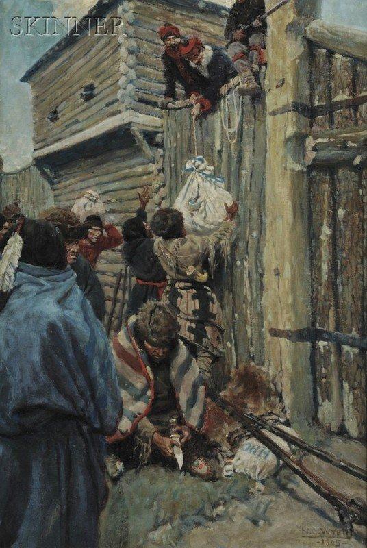 362: N.C. (Newell Convers) Wyeth (American, 1882-1945)