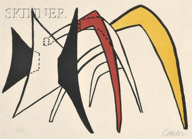 12: Alexander Calder (American, 1898-1976) Untitled fro