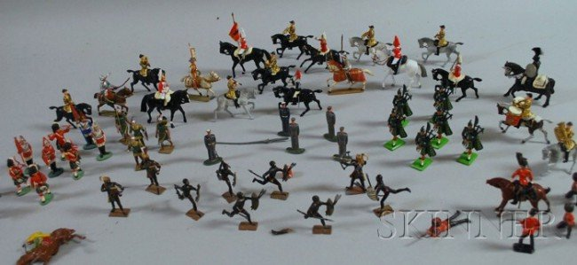 4: Britains Ltd., French, and Other Painted Lead Toy So