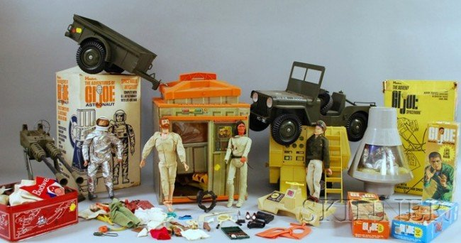 58: Large Group of Hasbro G.I. Joe Action Figures and A