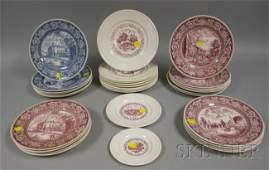 317 Thirtyone Assorted Wedgwood New York Ceramic Plat