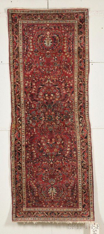 503: Sarouk Rug, West Persia, early 20th century, 6 ft.