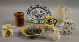 608: Eight Pieces of Assorted English Ceramics, includi
