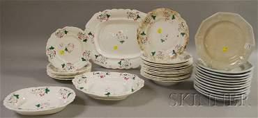 1100: Group of English Ceramic Tableware Items, twelve