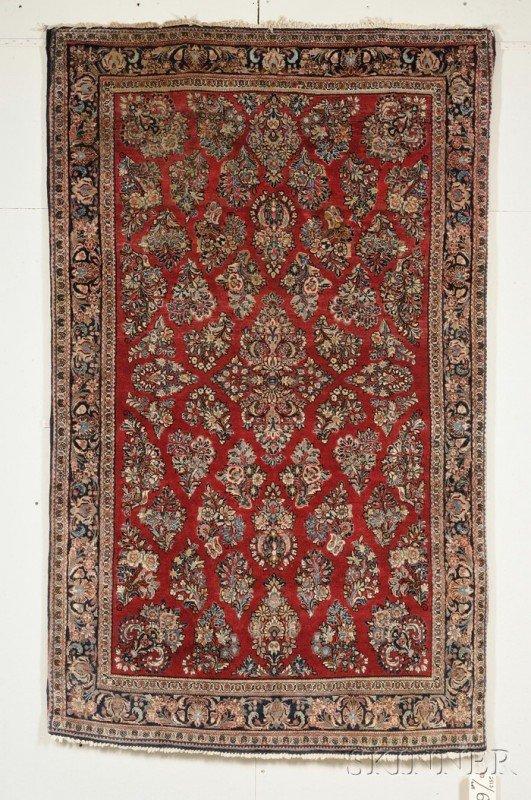 503: Sarouk Rug, West Persia, second quarter 20th centu