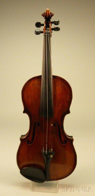 524: German Violin, c. 1900, labeled ...MAGGINI..., 362