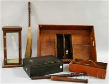 1342: Group of Miscellaneous Country Items, a pine butl