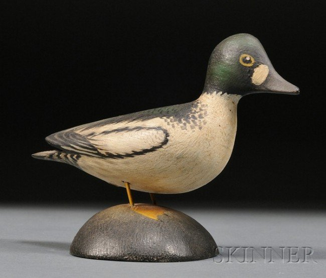 6: Miniature Goldeneye Drake, A. Elmer Crowell (1862-19