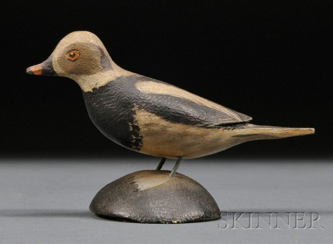 7: Miniature Old Squaw Drake, A. Elmer Crowell (1862-19