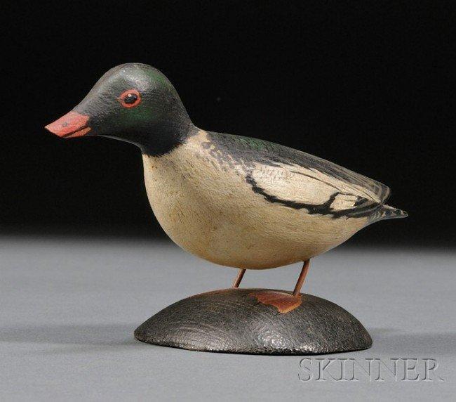 15: Miniature American Merganser Drake, A. Elmer Crowel