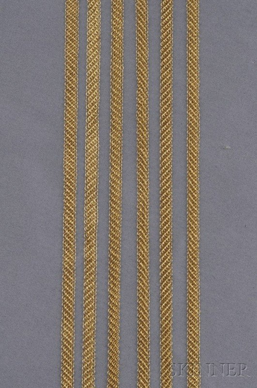"482: Three 18kt Gold ""Mesh"" Necklaces, Elsa Peretti, Ti"