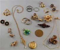289 Small Group of Assorted Jewelry including a Forst