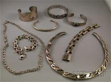 320: Small Group of Sterling Silver Jewelry, including