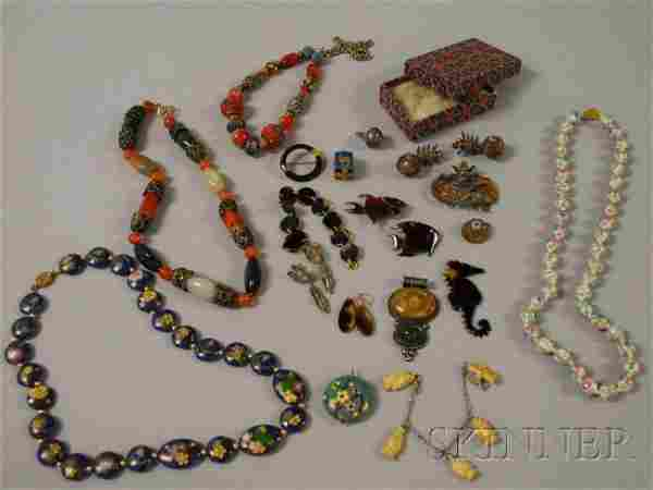 Small Group of Mostly Victorian and Asian Jewelry,