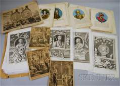 911: Eighty Assorted Mostly European 18th and 19th Cent