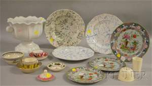 1288 Sixteen Pieces of Assorted English Ceramic Tablew