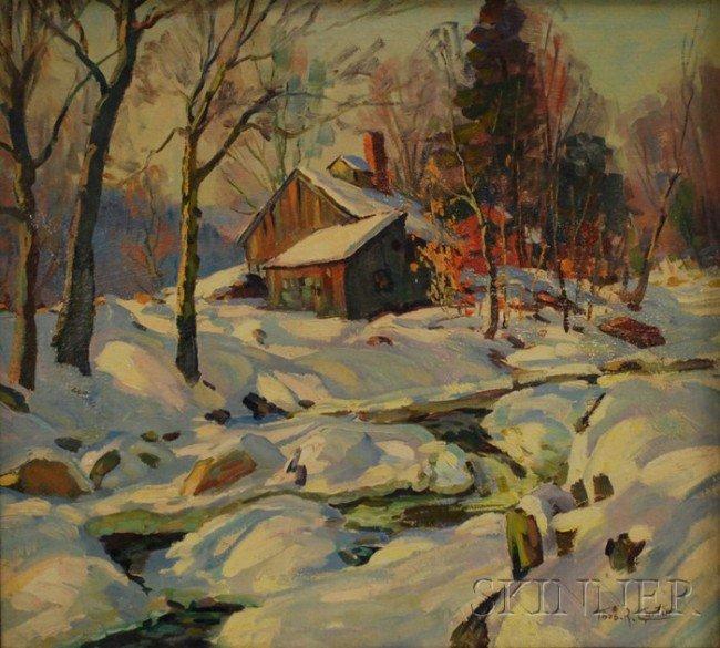 2: Thomas R. Curtin (American, 1899-1977) Sugar Shack i