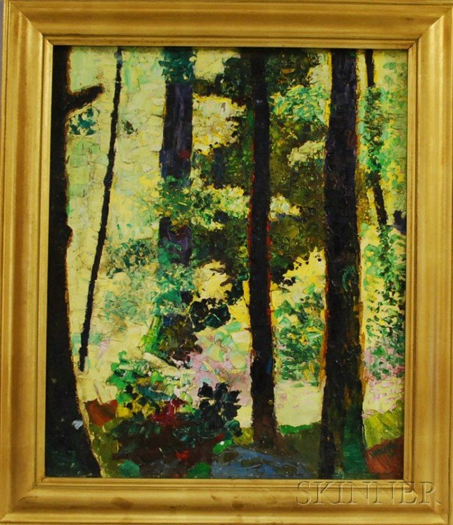 5: Coulton Waugh (American, 1896-1973) Sun Forest. Sign