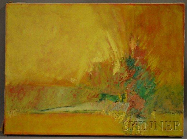 6: John Gregoropoulos (American, b. 1921) Field to Argo