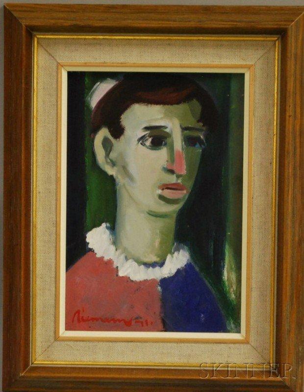 9: Hendrik Christiaan Niemann (African, b. 1941) Portra