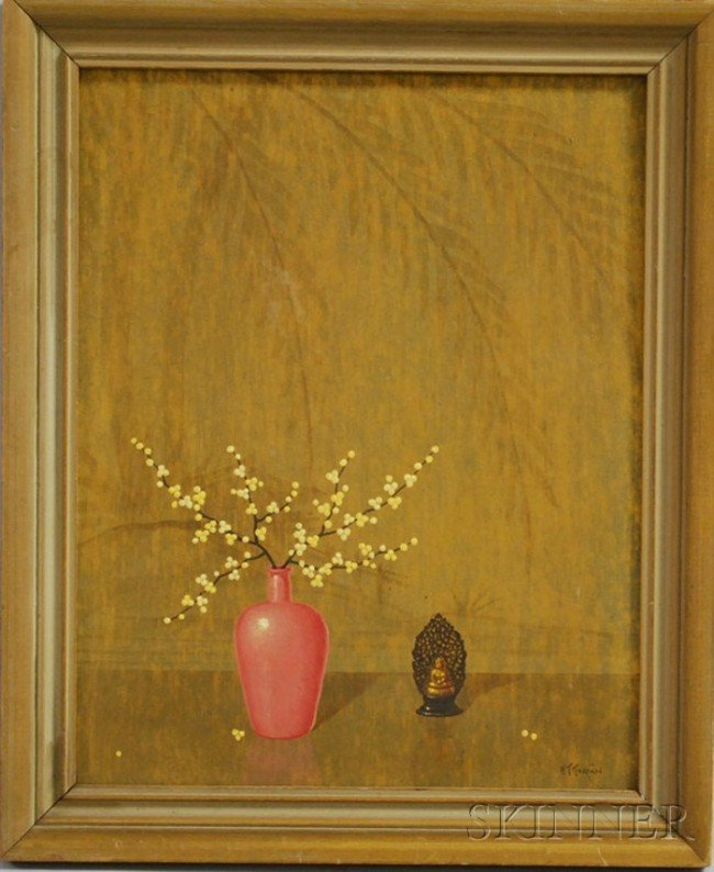 10: Alfonso T. Toran (American, 1896-1965) Asian-style