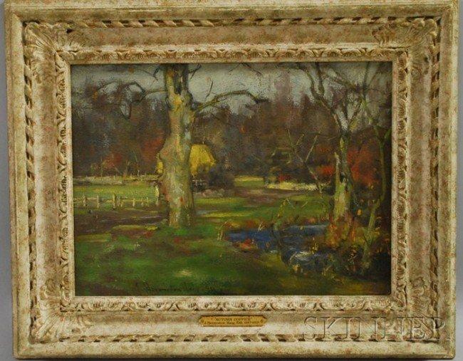 15: J. Hermiston Haig (British, fl. 1887-1919) Autumn C