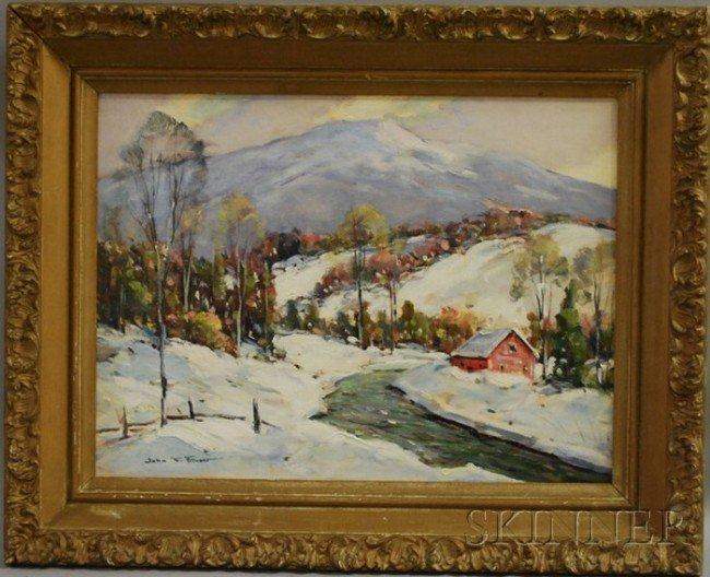 17: John F. Enser (American, 1898-1962) Mount Monadnock