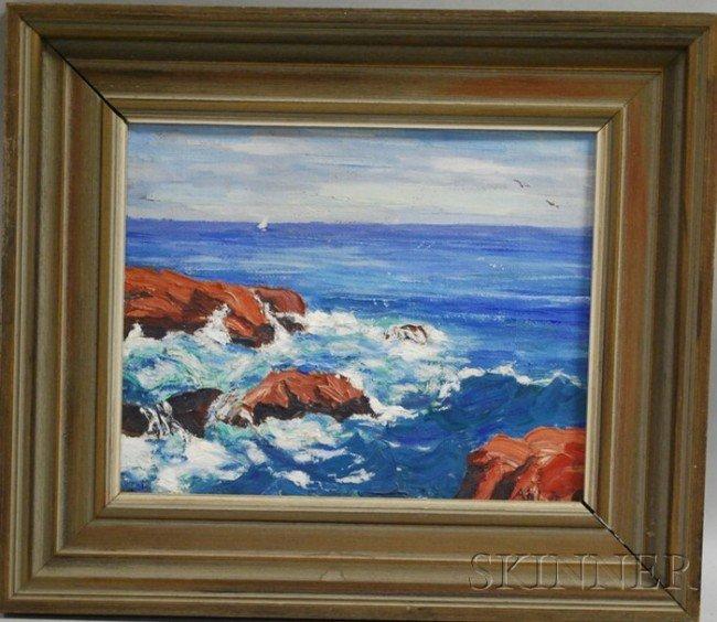 20A: Henry Curtis Ahl, Jr. (American, 1905-1996) Seasca