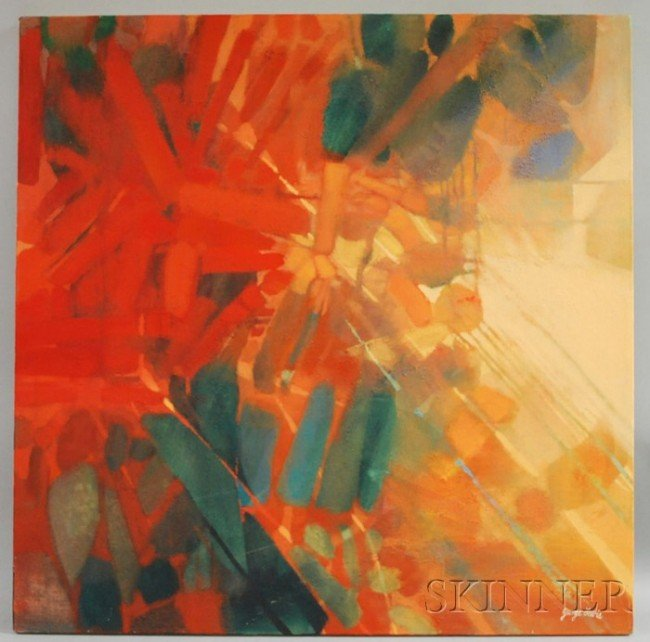 23: George Lewis (American, 20th Century) Colorscape no