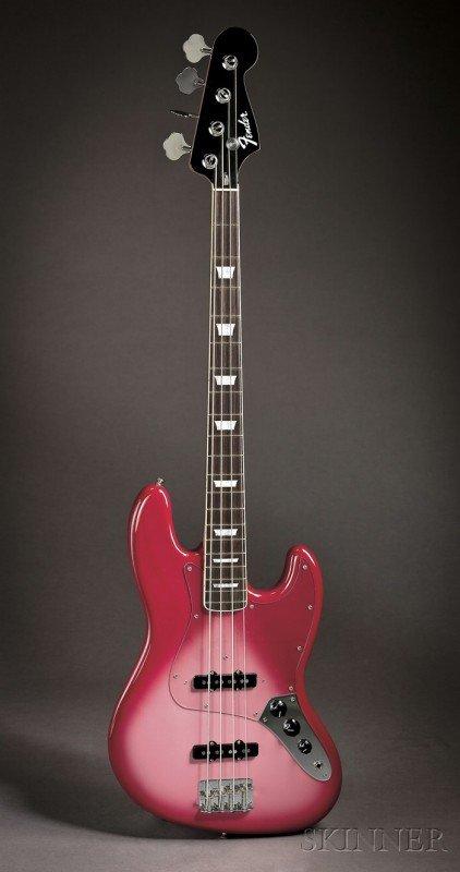 7: American Bass Guitar, Fender Custom Shop, Corona, 20