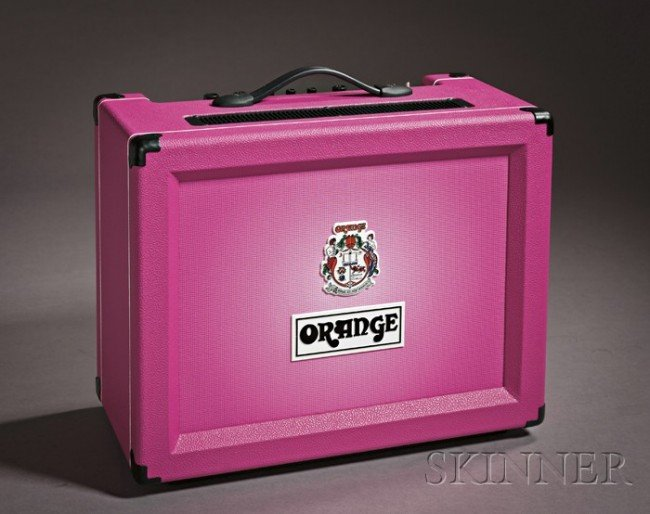 17: English Amplifier, Orange Music Electronic Company,