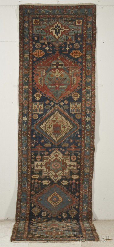 11: Karadja Runner, Northwest Persia, late 19th century