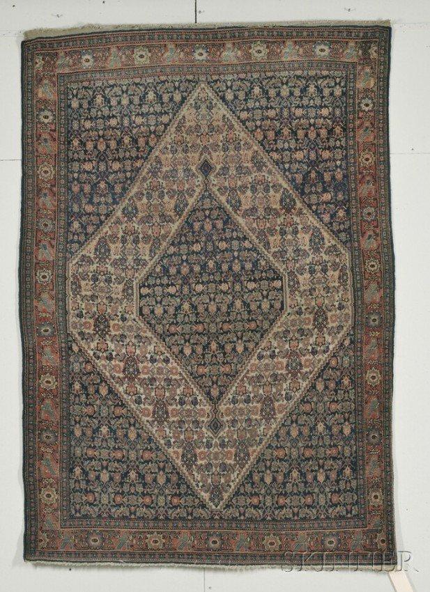 12: Senneh Rug, Northwest Persia, last quarter 19th cen