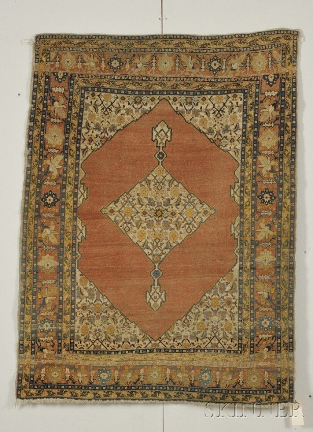13: Tabriz Rug, Northwest Persia, late 19th century, (e