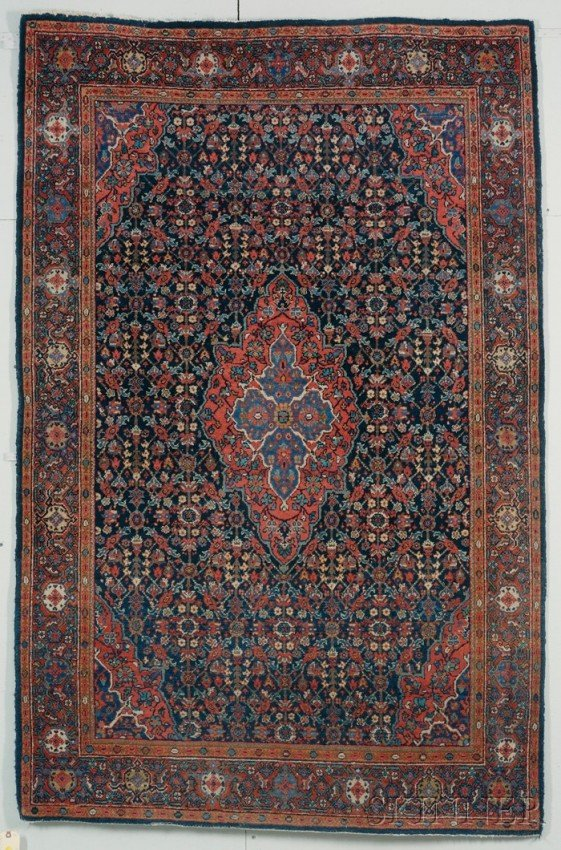 14: Fereghan Rug, West Persia, second quarter 20th cent
