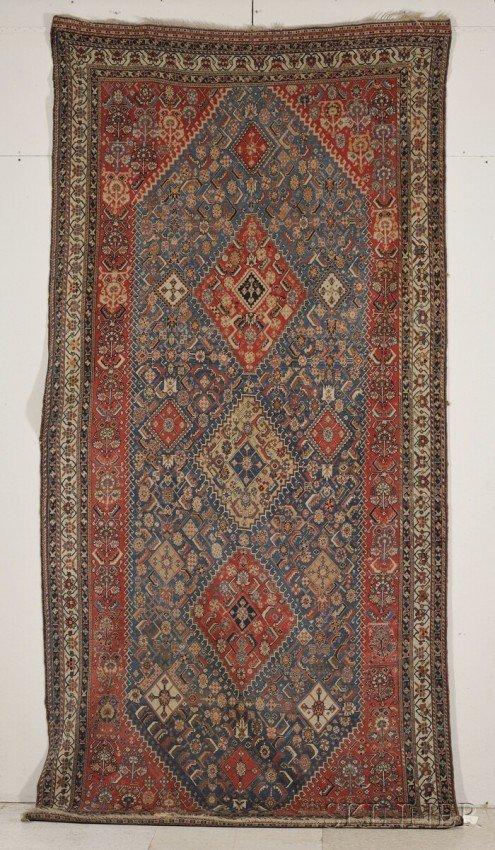 16: Qashqai Rug, Southwest Caucasus, late 19th century,