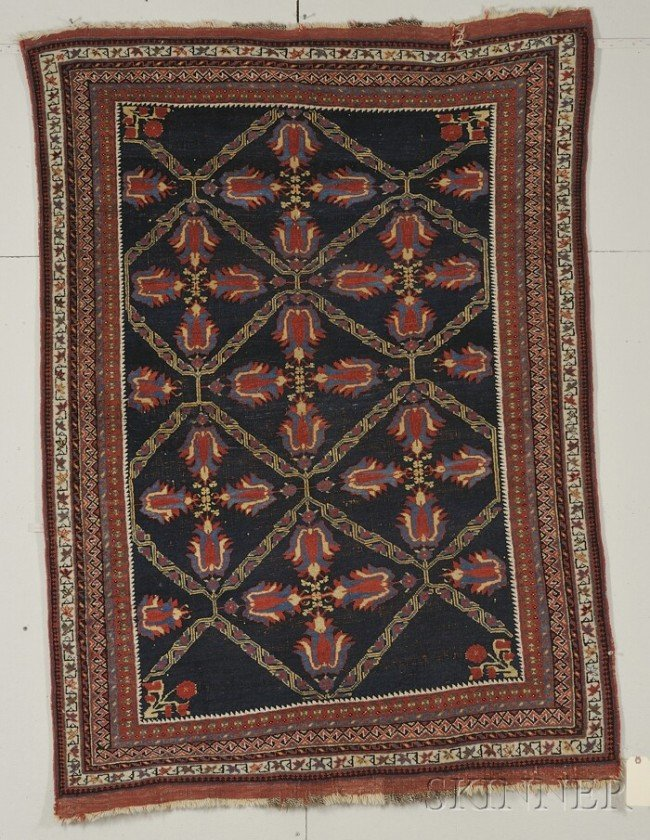 17: Afshar Rug, South Persia, early 20th century, (area