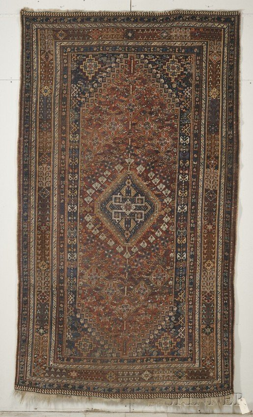 20: Qashqai Rug, Southwest Persia, late 19th/early 20th