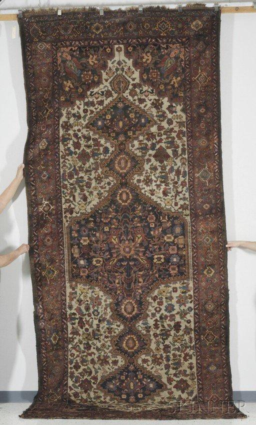 21: Southwest Persian Corridor Carpet, late 19th centur