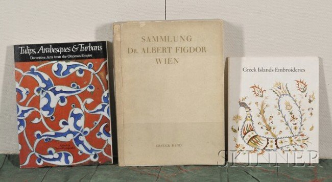 246: Seventeen Oriental Textile Books, Shawls of the Ea