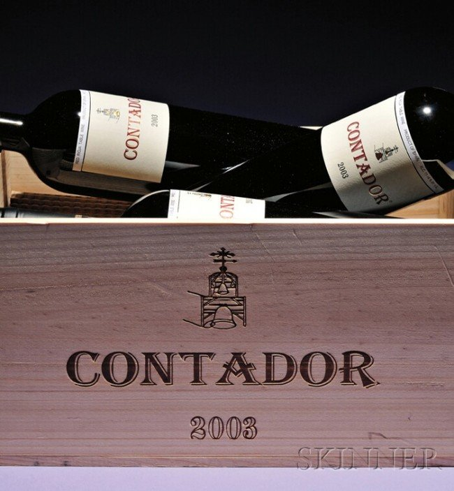 557: Benjamin Romeo Contador 2003 Rioja u: one shows si
