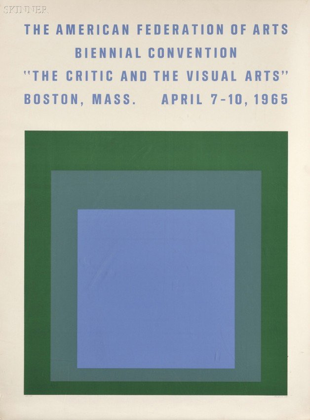 1: Josef Albers (American, 1888-1976) The Critic and th